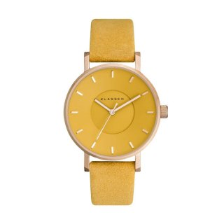 MISS VOLARE VO17MV002W ROSE GOLD MUSTARD 36MM