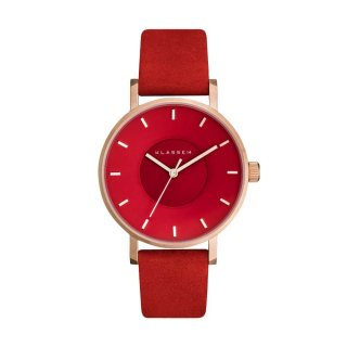 MISS VOLARE VO17MV004W ROSE GOLD CORAL 36MM