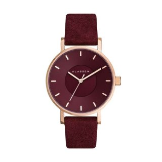 MISS VOLARE VO17MV005W ROSE GOLD BOURGOGNE 36MM