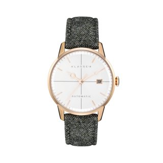 MARIO NOBILE Disco Volante Sartoria Rose  Gold Rhinogray Flannel40mm DI17RG002M
