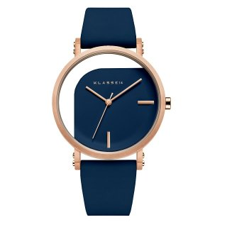 IMPERFECT ANGLE Blue Rose Gold 40mm
