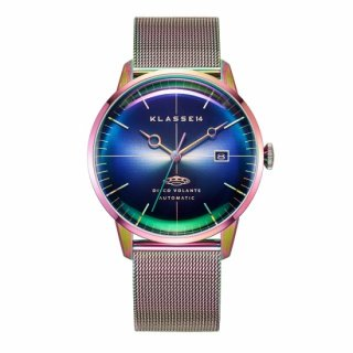 DISCO VOLANTE STARDUST Rainbow with Mesh Strap 40mm Automatic