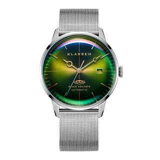 DISCO VOLANTE STARDUST Silver with Mesh Strap 40mm Automatic