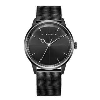 DISCO VOLANTE Black with Mesh Strap 40mm