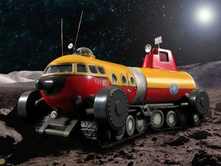 月面探検車 LUNAR EXPLORATION VEHICLE