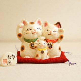 【中】ファミリー福々招き猫