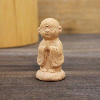 陶器の福地蔵さま (小ピンク)