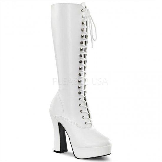 ELECTRA-2020 (Wht Faux Leather)