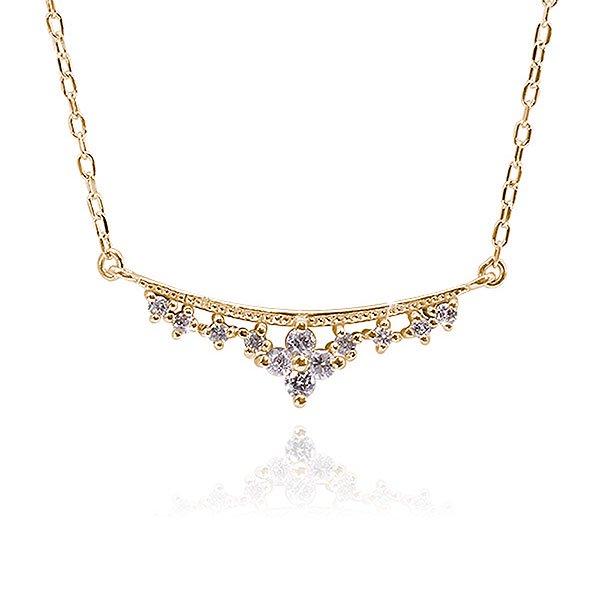 ダイヤモンド12石 ネックレス
