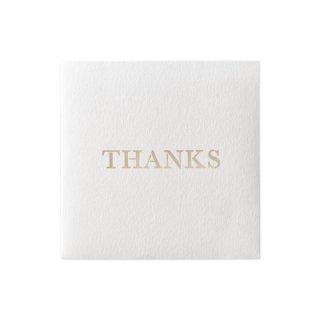 ふたえ カード きり THANKS (カ-FTK4)