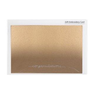 刺繍カード congratulations (GF-カCGO)