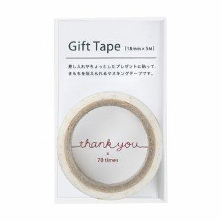 ギフトテープ thank you (GF-MT3)