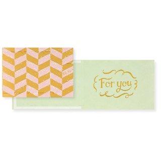 【2月末販売終了】プルミージッパーカード For you 1 (CP1F1)