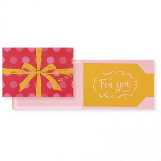 プルミージッパーカード For you 2