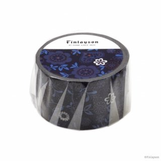 FINLAYSON マスキングテープ オルガ ブルー (MT-FL14)