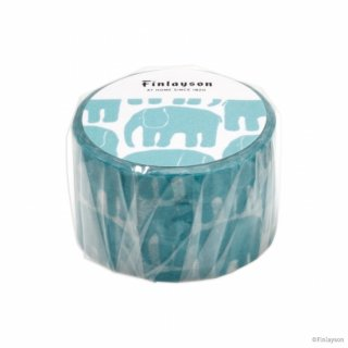 FINLAYSON マスキングテープ エレファンティ ブルー (MT-FL4)