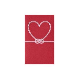il cuore ぷち袋 赤 (ノ-CU1R)