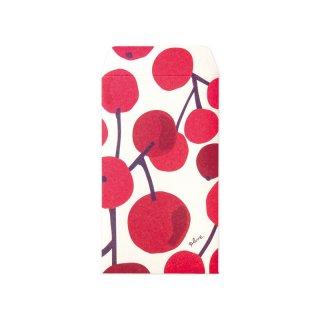 【2月末販売終了】Plune. ぽち袋 大きな木の実 赤 (ノ-PL5)