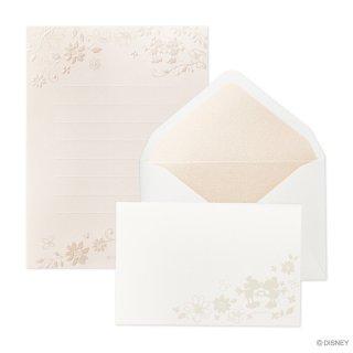 ディズニー Thank you ミニレター ミッキー&ミニー (レ-D201S)