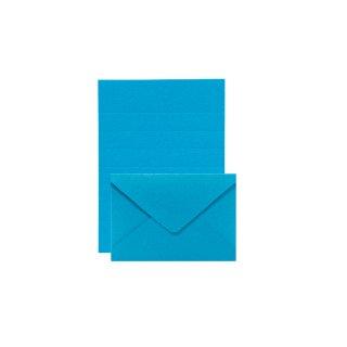 【11月9日発売】PLAIN ナノレターセット ブルー (レ-P10B)