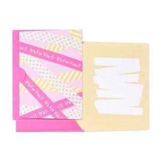 【2月末販売終了】ギフトカード封筒 ビビッド フォーユー (GF-C11F)