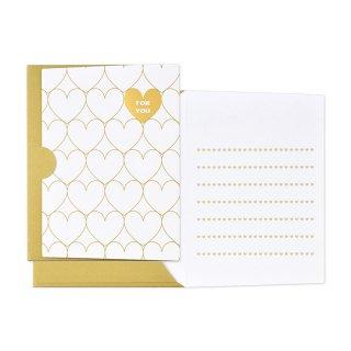 【2月末販売終了】ギフトカード封筒 ゴールド フォーユー (GF-C20F)