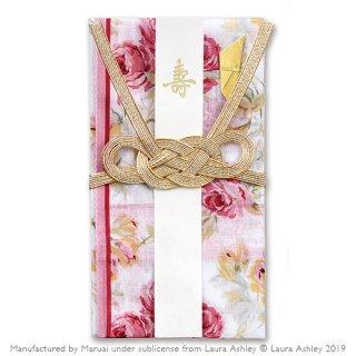 LAURA ASHLEY ハンカチ金封 婚礼用 <br>クチュール ローズ (キ-LA43)