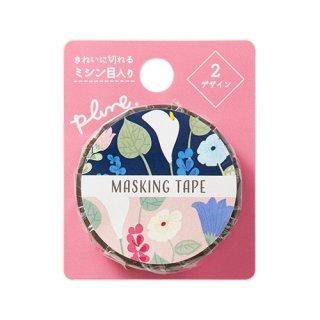 Plune. マスキングテープ Modern Lillys (MT-PL12)