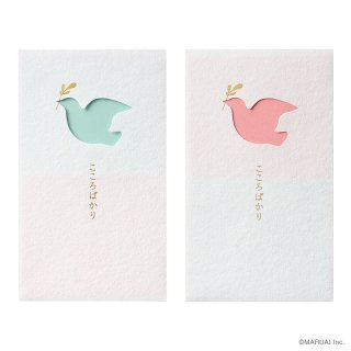 窓ぽち袋 こころばかり 鳥 (ノ-MD3PS)