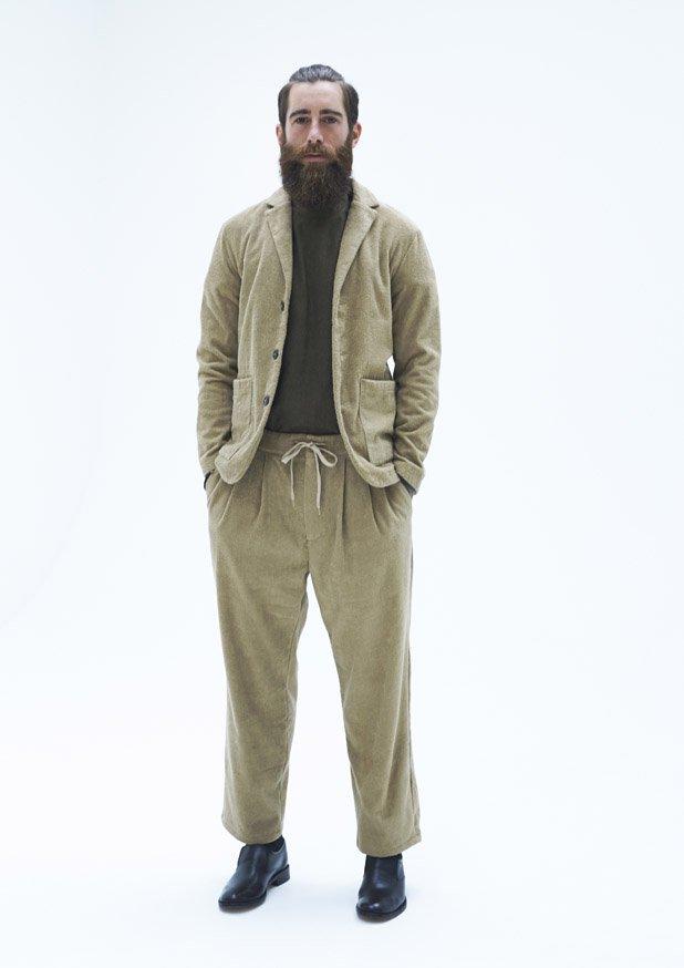 TFTP-1201 Tailored Collar JacketTFIN-1006 T-ShirtTFBT-1302 2 Tuck Pant