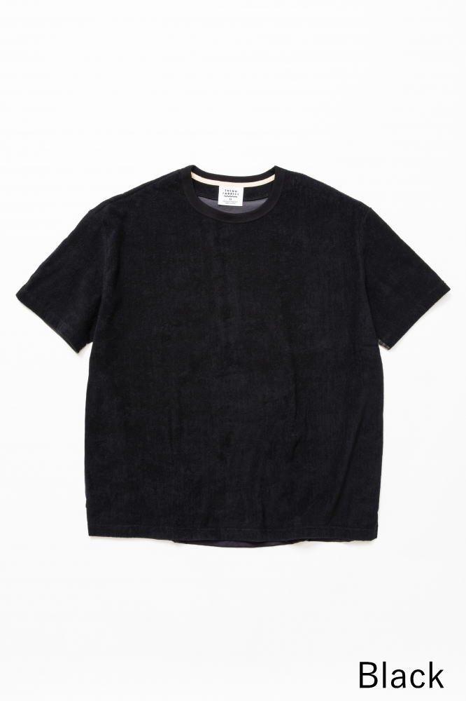TF 5素材切り替えTシャツ ショートパイル