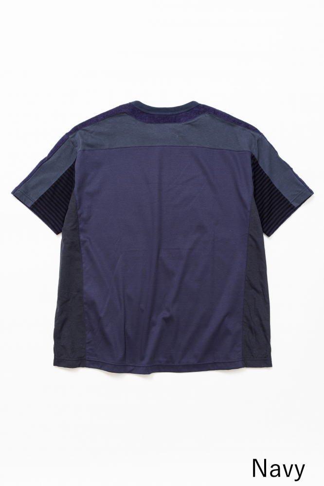TF 5素材切り替えTシャツ ショートパイル【画像4】