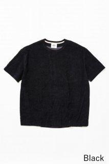 トップス TF 5素材切り替えTシャツ ショートパイル