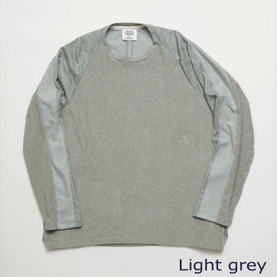 ロングスリーブTシャツ(別素材4種切り替え)【画像5】