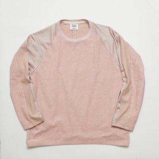 ハンドタオル ロングスリーブTシャツ(別素材4種切り替え)
