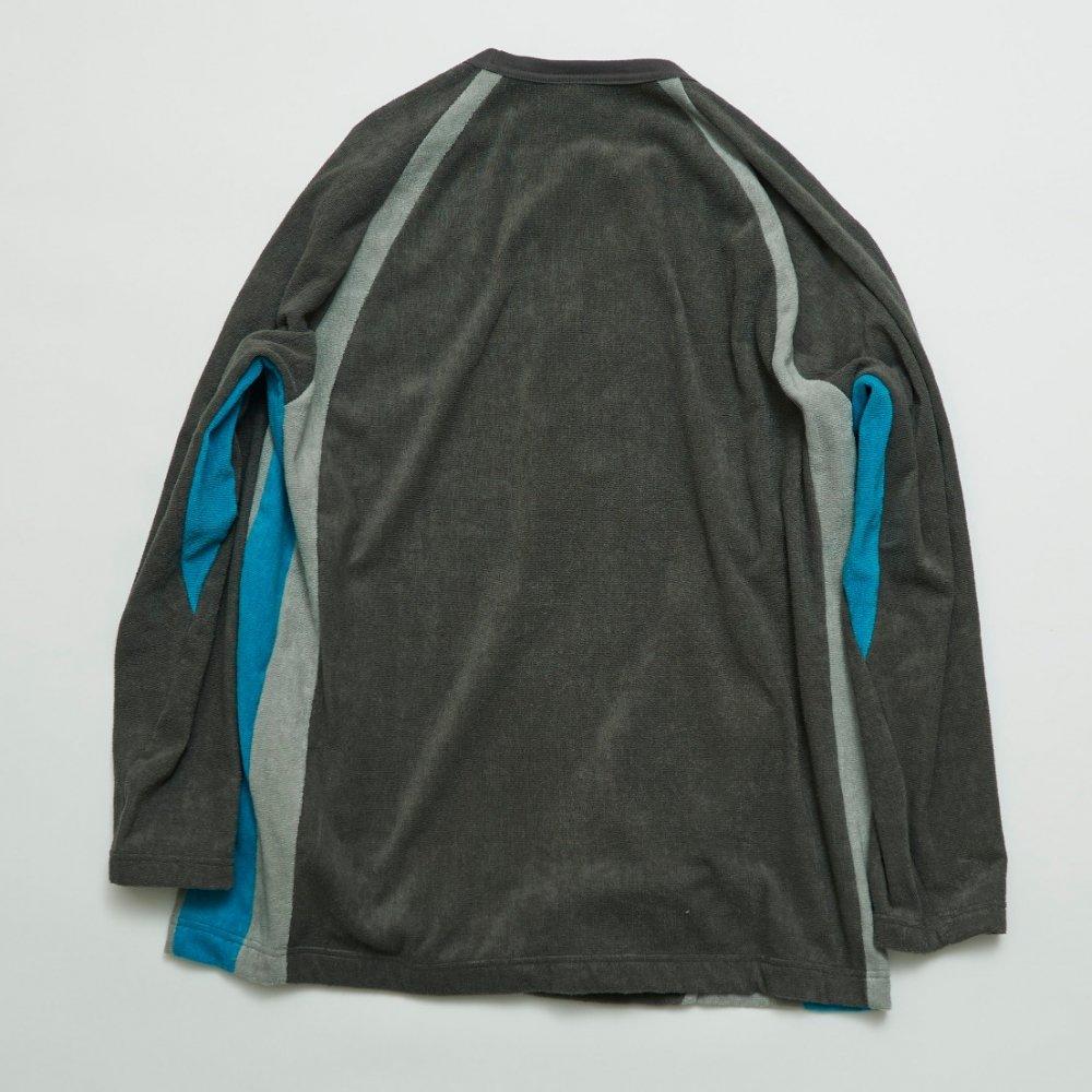 ラグランスリーブロングスリーブT−シャツ(同素材色切り替え)【画像2】