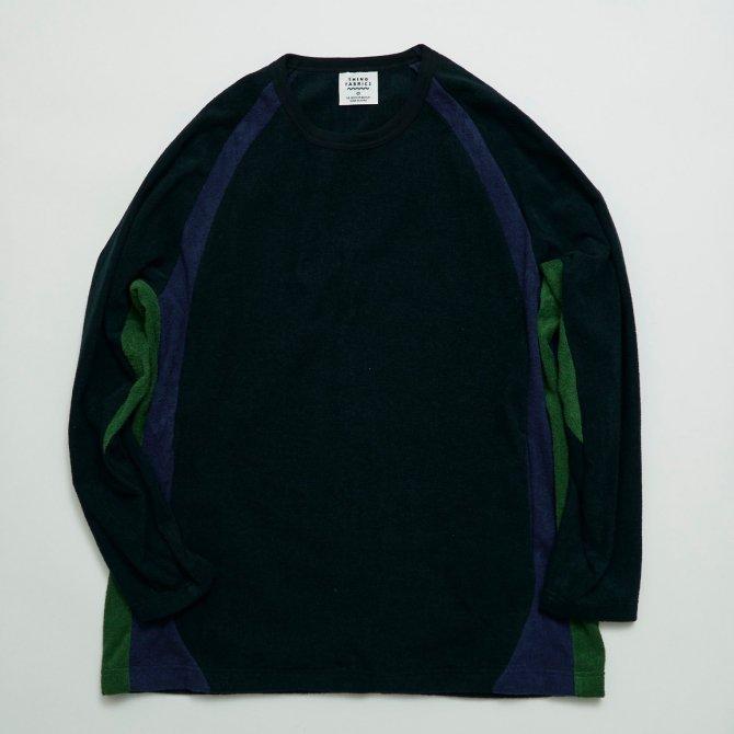 ラグランスリーブロングスリーブT−シャツ(同素材色切り替え)【画像3】