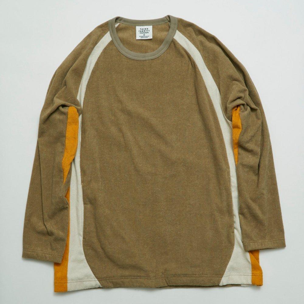 ラグランスリーブロングスリーブT−シャツ(同素材色切り替え)【画像4】