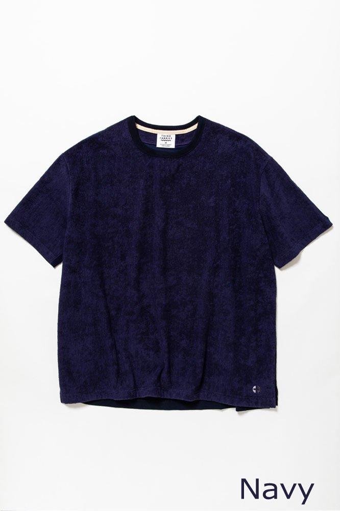 5素材切り替えTシャツ ショートパイル【画像2】