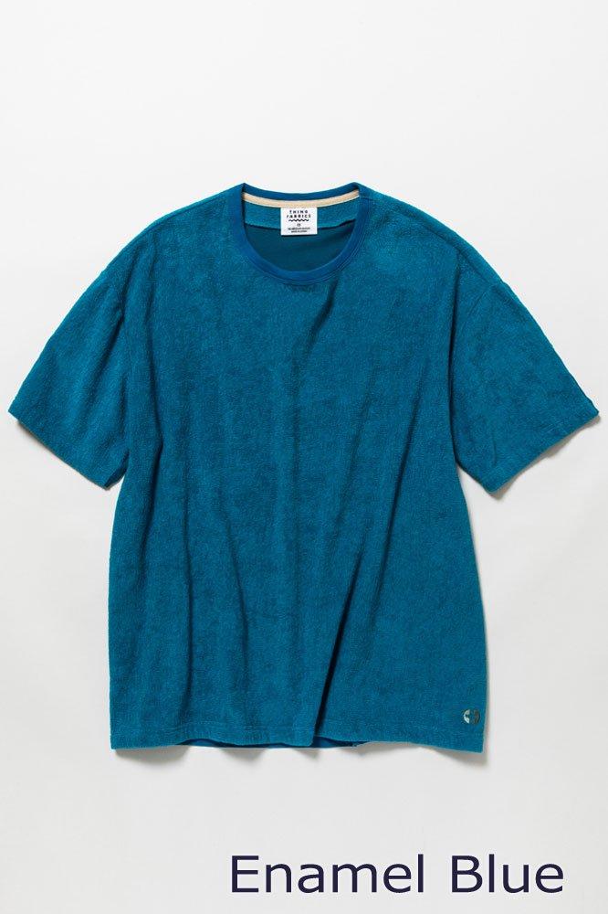 5素材切り替えTシャツ ショートパイル【画像3】