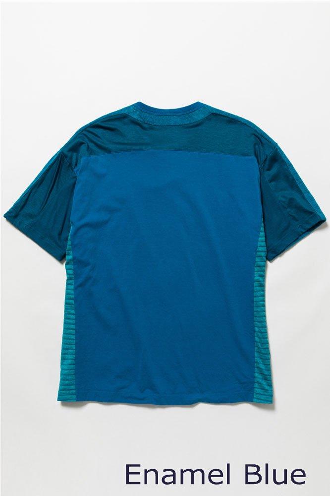 5素材切り替えTシャツ ショートパイル【画像4】