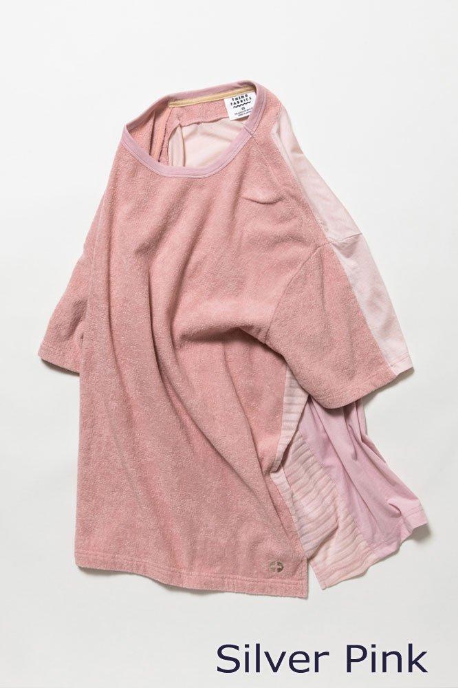 5素材切り替えTシャツ ショートパイル【画像5】
