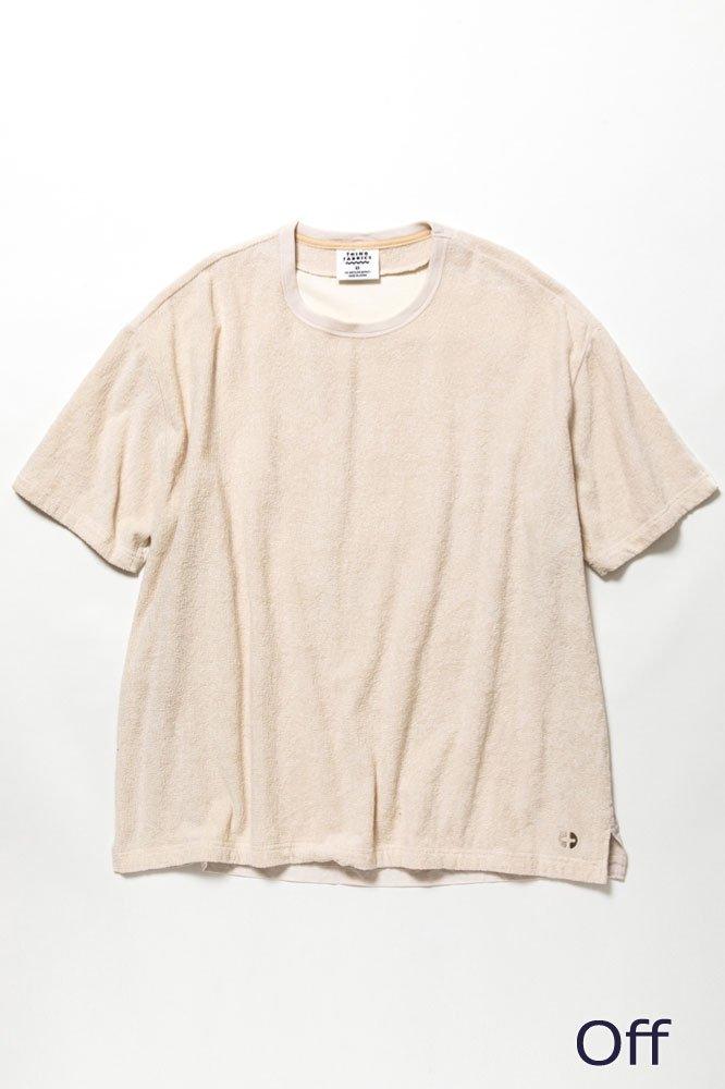 5素材切り替えTシャツ ショートパイル【画像6】