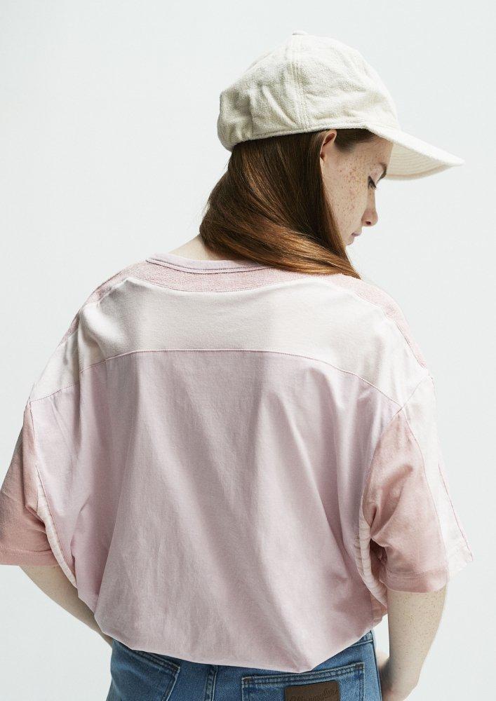 5素材切り替えTシャツ ショートパイル【画像9】