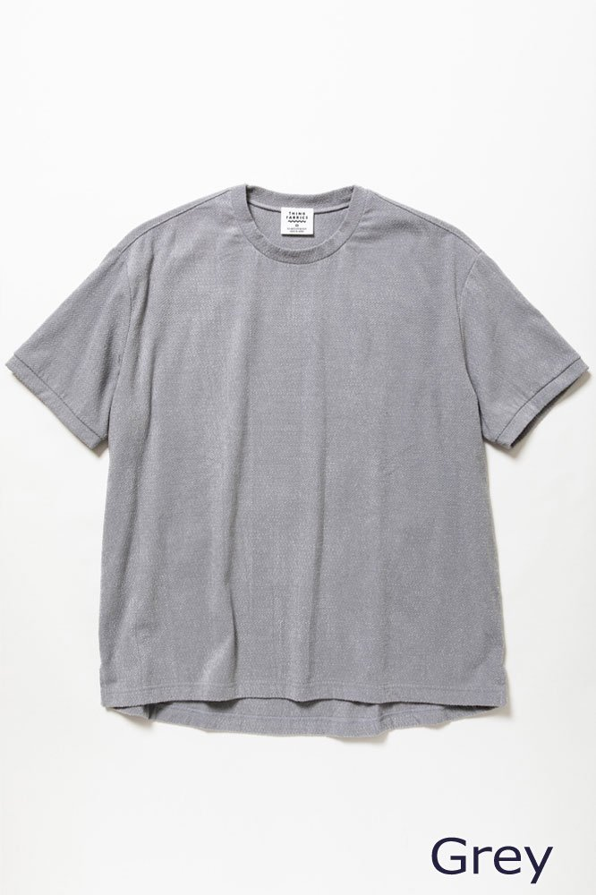 TF Tシャツ(ジャガードパイル)【画像8】