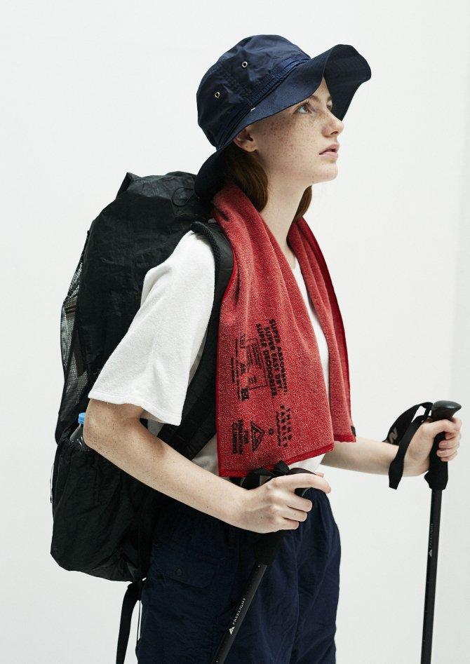 登山用機能タオル【画像4】