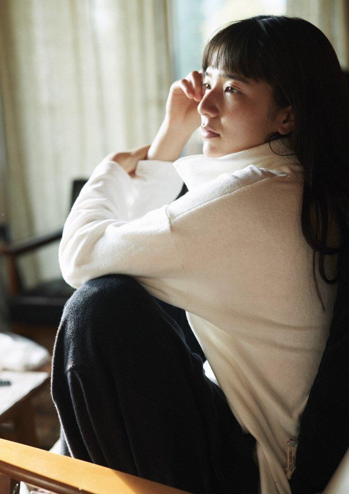 ワイドトラウザーズ オーガニック パイルカットソー【画像6】