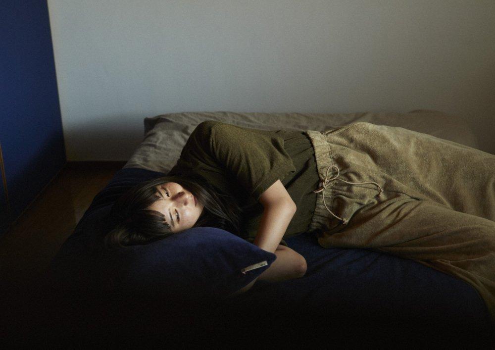 ワイドトラウザーズ オーガニック パイルカットソー【画像9】
