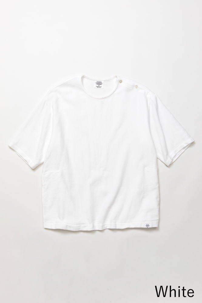 TF プルオーバーシャツ バスケット柄タオルクロス【画像4】