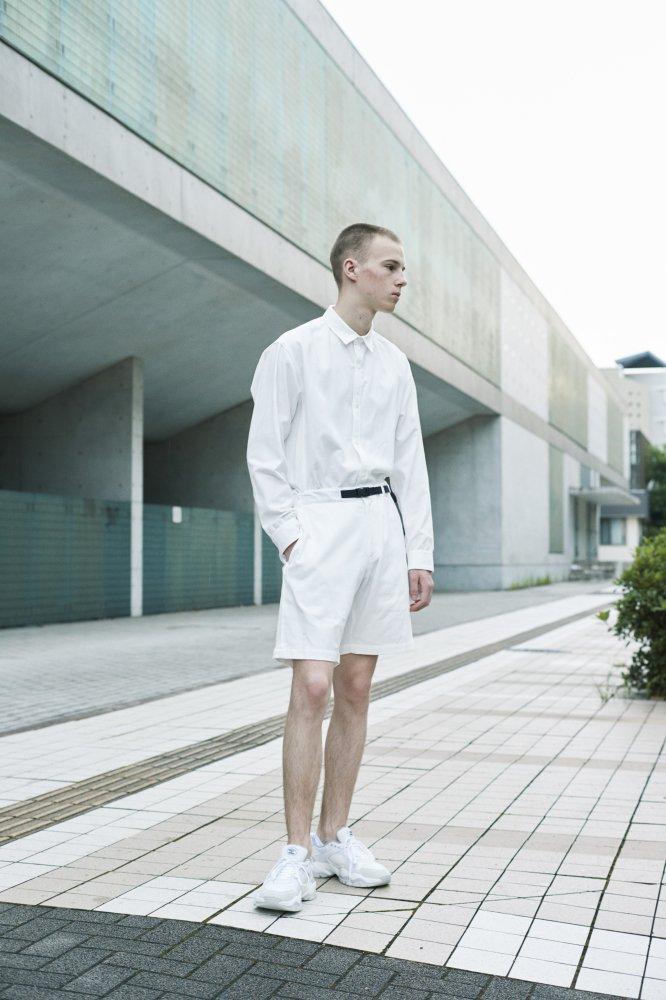 TF 切り替えシャツ ブロード織り風タオルクロス【画像8】